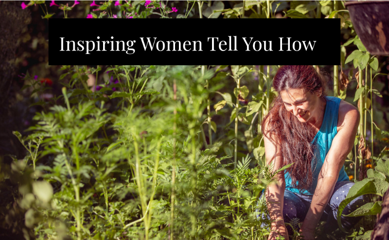 Inspiring women authors write about permaculture