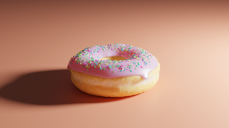 Nick's awesome donut
