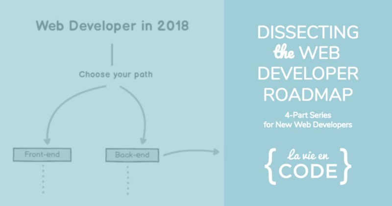 What I learned from dissecting The Web Developer Roadmap