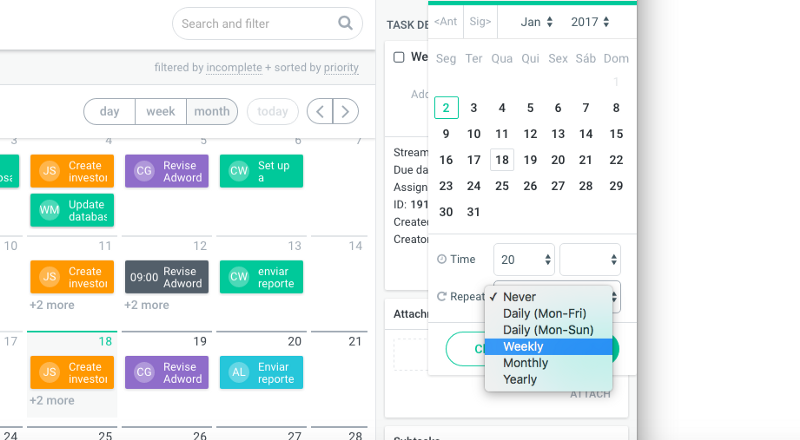Schedule your tasks to reach your personal productivity goals