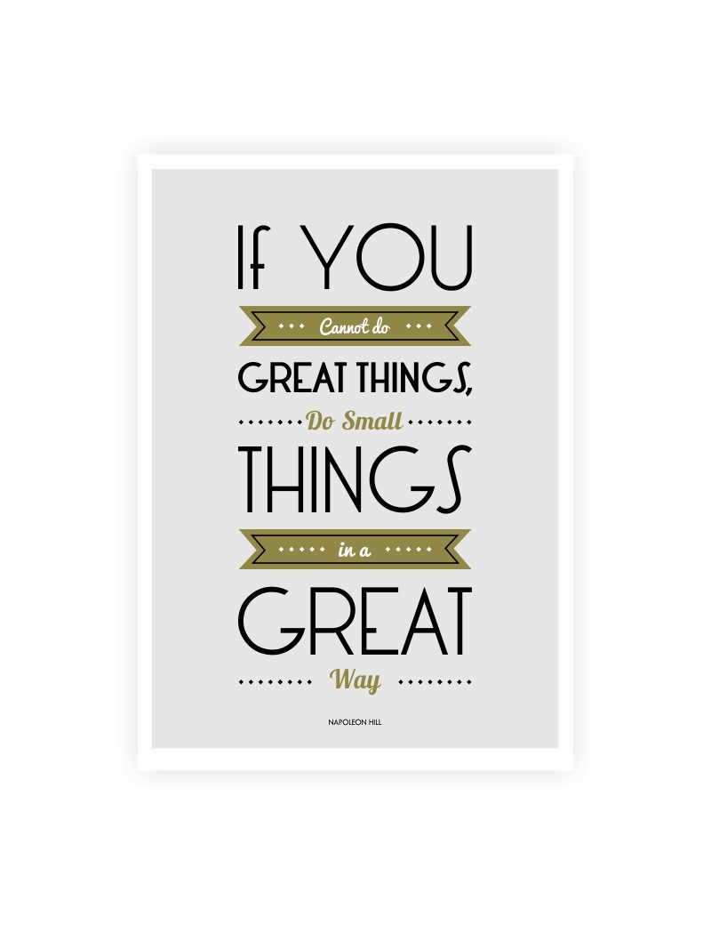 Great Small Quotes Do Small Things In A Great Way  Nenshi Shane  Medium