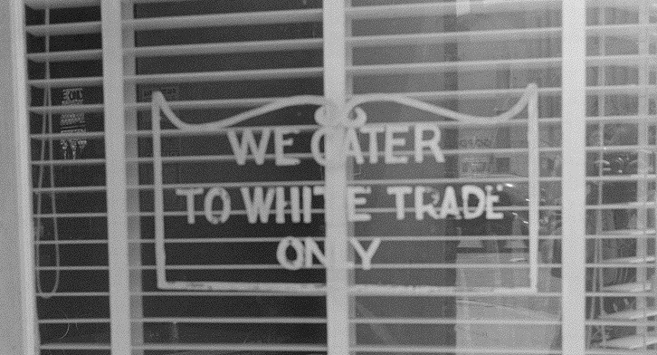 These kinds of signs have been illegal in California since the Unruh Civil Rights Act in 1959 and nationally since a 1964 U.S. Supreme Court ruling outlawed segregation.