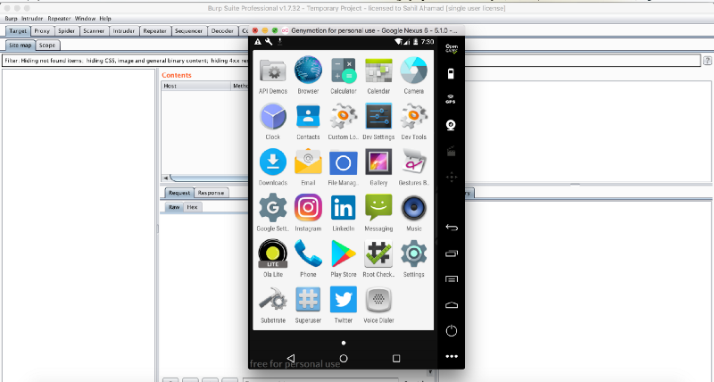 See play store is installed in the virtualDevice.