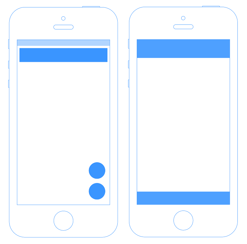 Canvas Layout Google vs Apple