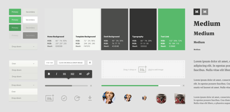 A more seamless workflow — style guides for better design and development