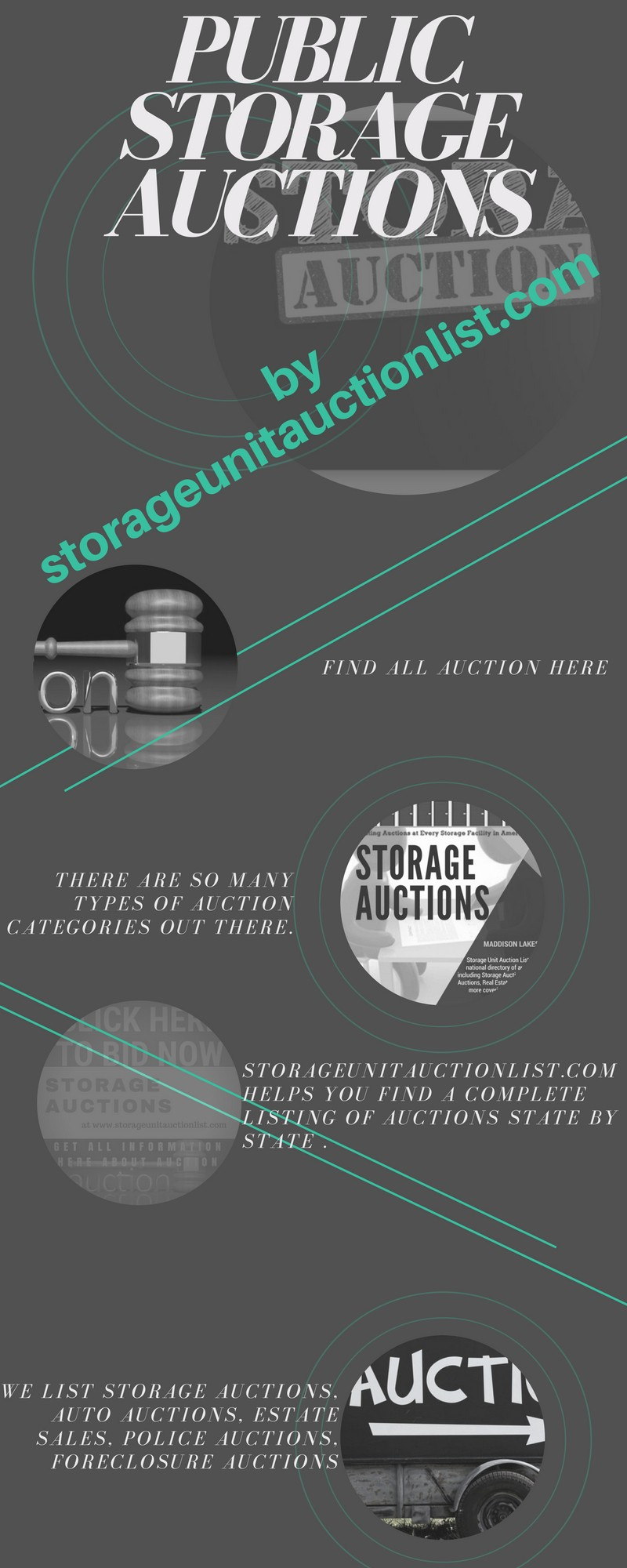 StorageUnitAuctionList.com subscribers can review their account for a complete listing of auctions in the region of their choice and review upcoming ... : public auction storage units  - Aquiesqueretaro.Com