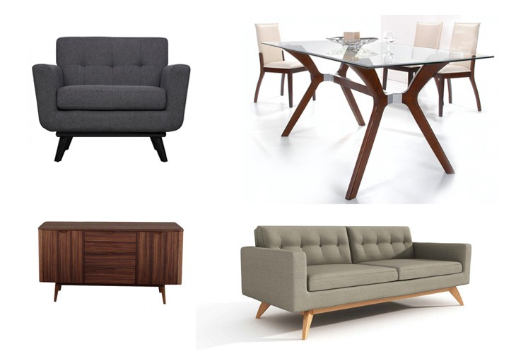 60s Style Furniture mid-century modern furniture gain popularity | useful articles