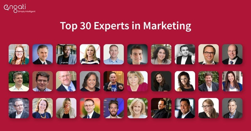 Top 30 Marketing Influencers you need to follow for 2021