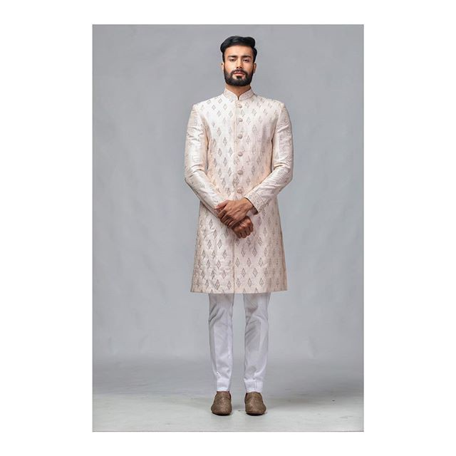 Hand printed kurta for men