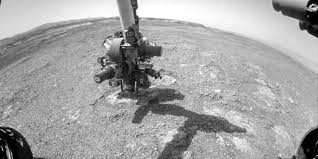 Curiosity drills down to collect samples at 'Rock hall' (NASA)