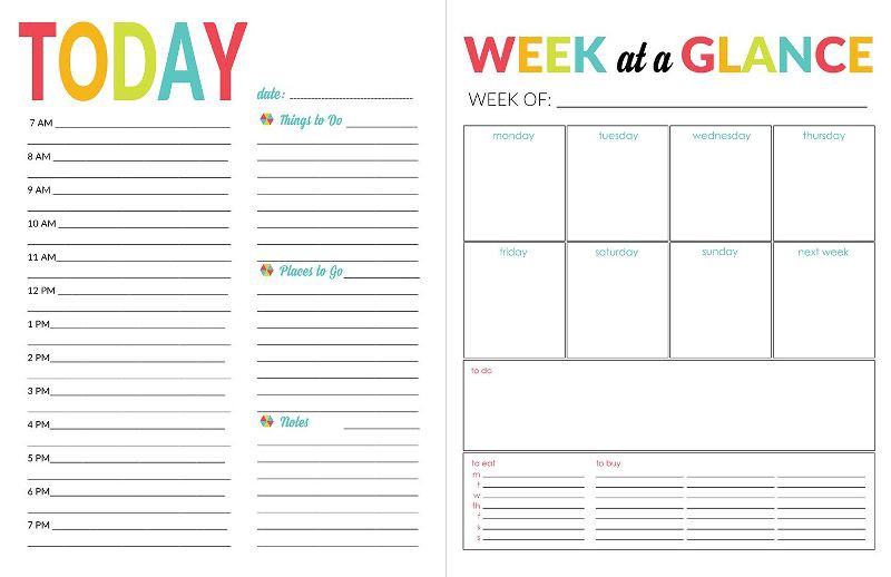 daily calendar template record track your daily activities