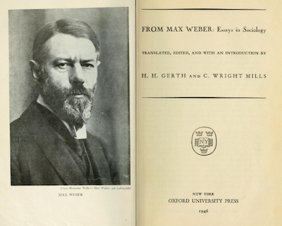 karl marx and max weber contribution to sociology