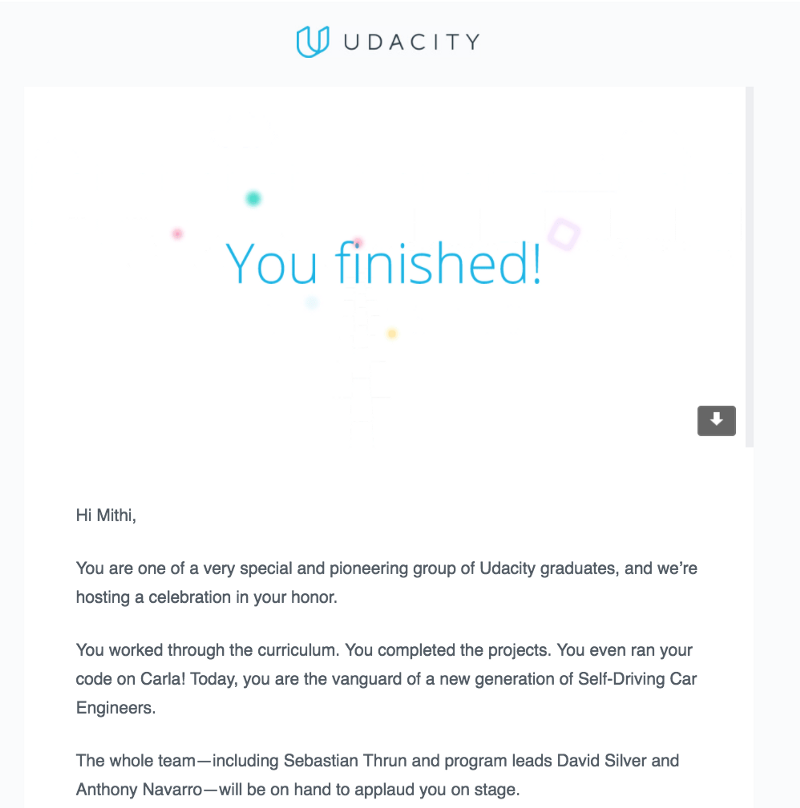 A Review of Udacity\'s Self-Driving Car Nanodegree — Third Term and ...