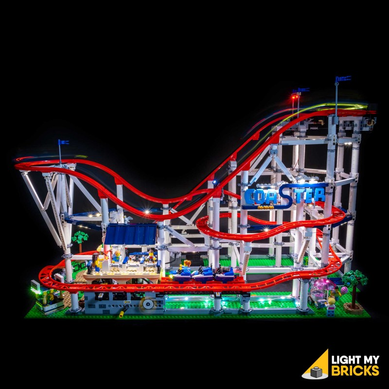 LED Light kit for Lego Roller Coaster 10261 LEGO Lights LIGHT MY BRICKS