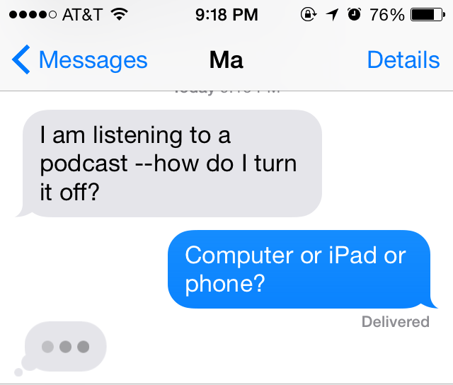 iphone how to send imessage instead of text
