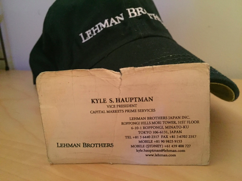 lesson from the lehman brothers On this day, seven years ago, the investment bank lehman brothers collapsed into bankruptcy the story of what happened, before and after, has been told many times.