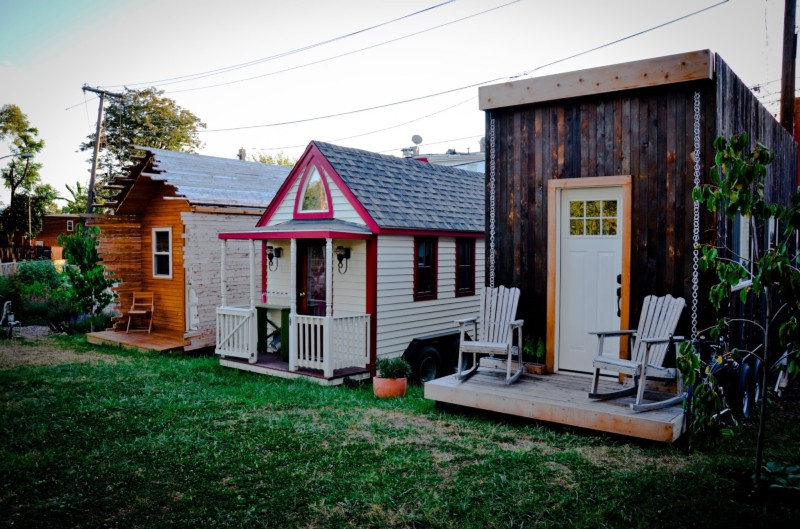 Incredible Jay Austins Beautiful Tiny House Also Illegal In Houston Largest Home Design Picture Inspirations Pitcheantrous