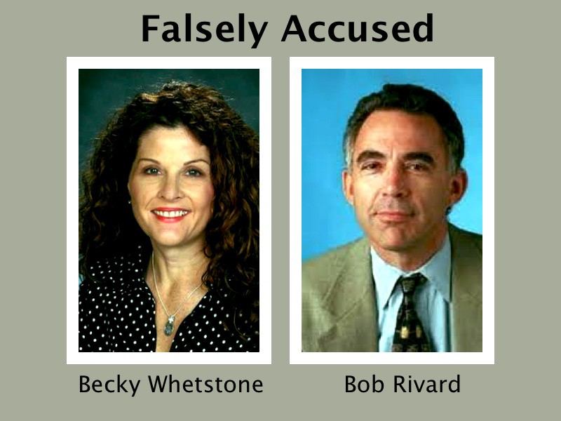 Falsely accussed sex harassment divorce