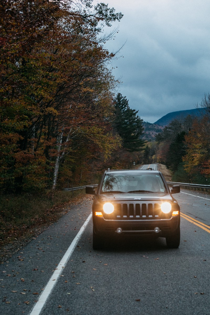 Fall In New England Turo Travelogues Medium Lincoln Town Car Sleep We Stopped Into A Local Brewery And Grabbed Beers While Chatting With The Bartender About Where Would Be Best For Us To Catch