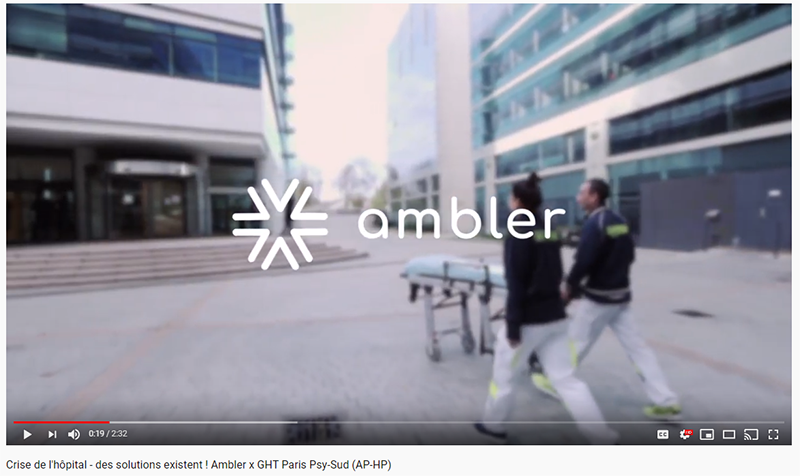 Interview with Ambler, the first smart network for medical transportation