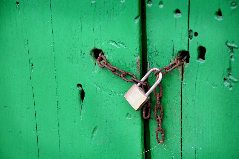 Keep your passwords well locked and secured