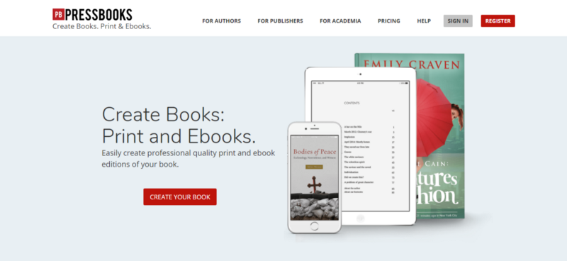 How to write self publish and sell your book in 2018 anthony frasier pressbooks allowed me to use a familiar wordpress interface to write out my chapters the app also automates page numbers table of contents fandeluxe Gallery