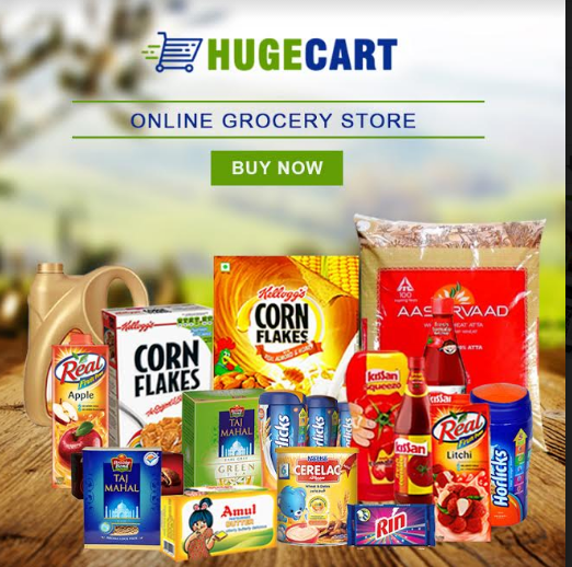 Try online shopping of grocery with HUGECART in Faridabad