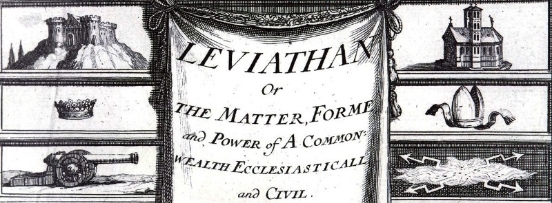critique of thomas hobbess leviathan They also both draw heavily on the work of thomas hobbes  and carl schmitt  are two of the most prominent critics of rationalism in politics.