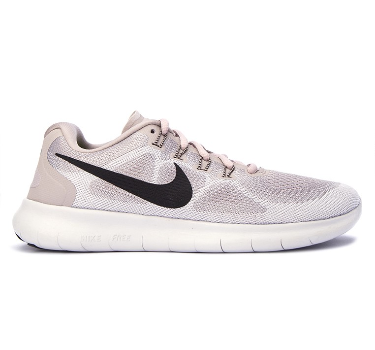 b9033386e7cc Nike Free RN 2017 Running Shoes  in Moon Particle Vast Grey Sand