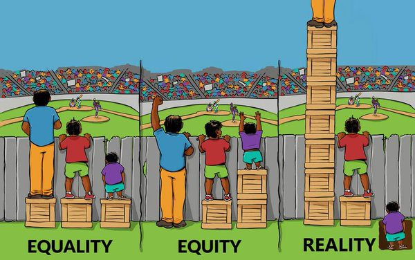 equity and equality - YouTube