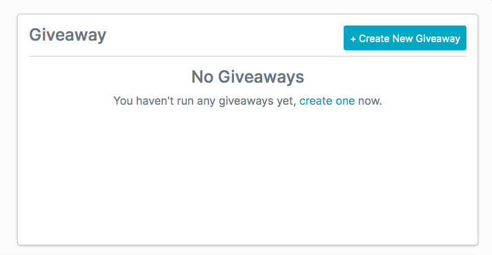 Softgiving's Giveaway feature makes it easy for content creators to reward their audience for their continued support.