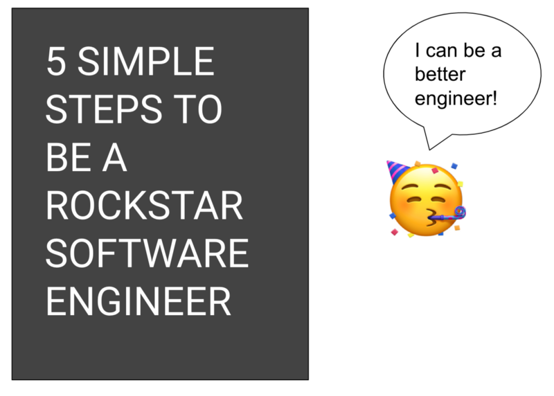 How to become a rockstar engineer