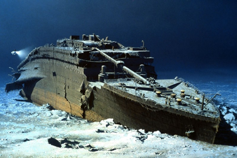 The wreck of the Titanic was found by Robert Ballard in 1985
