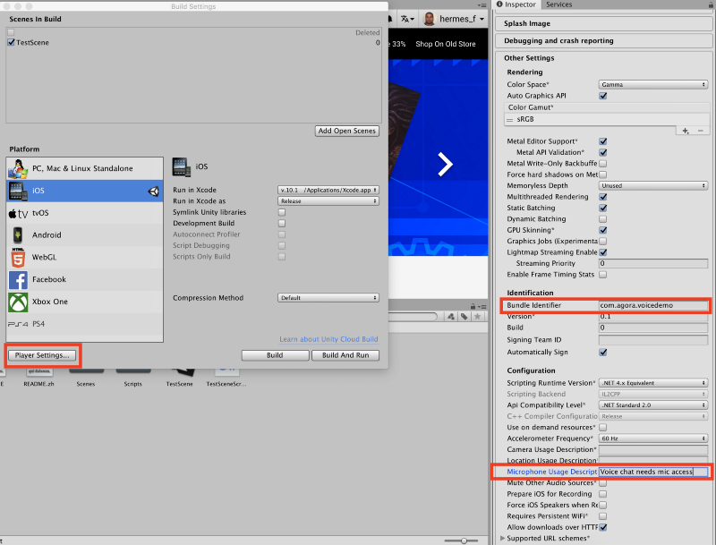 Add Voice Chat to your Unity game - Agora io