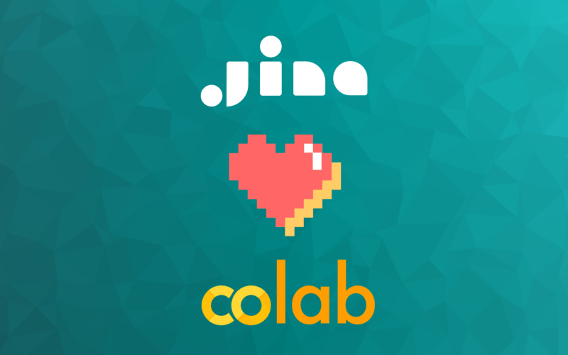 Jina: Now with Google Colab!-image