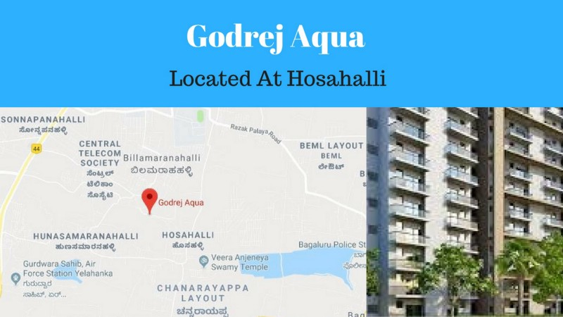 Godrej Aqua - Project Located At Hosahalli Bangalore