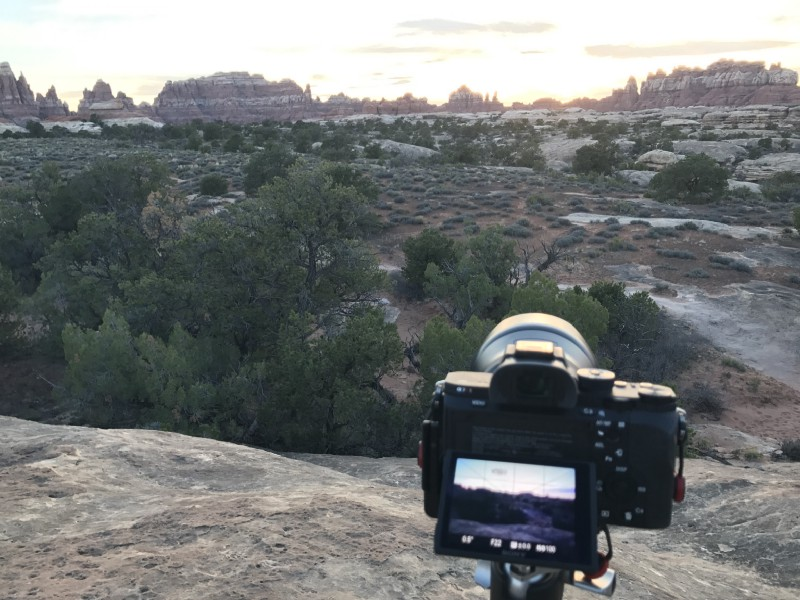 Canyonlands Sunset Shoot (iPhone)