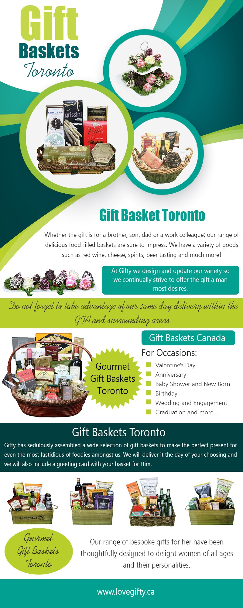 Gourmet gift basket best corporate gifts that are designed to impress at https://lovegifty.ca/