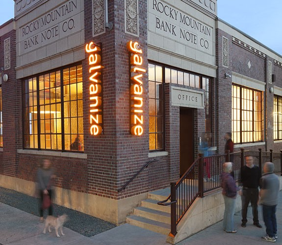 The Galvanize office in Denver.