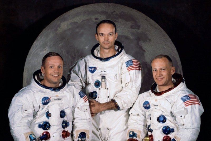Neil Armstrong, Buzz Aldrin and Michael Collins