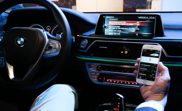 The BMW ConnectedDrive platform