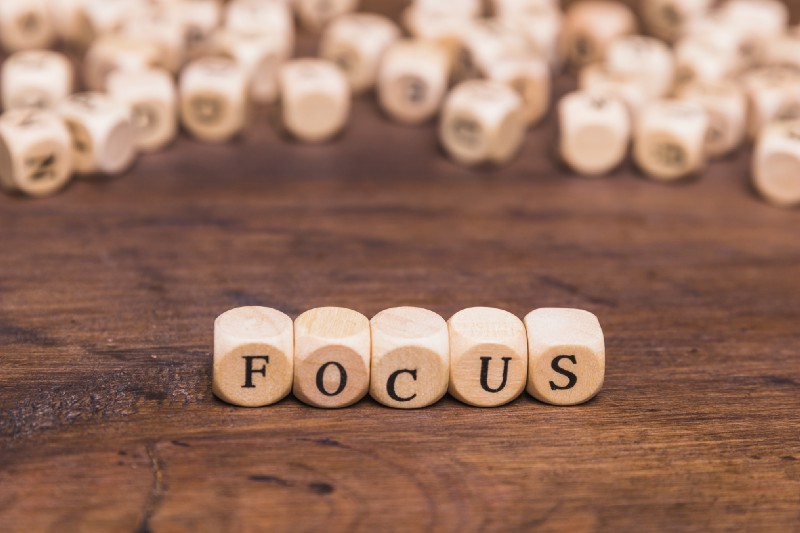 Focus on what you do!