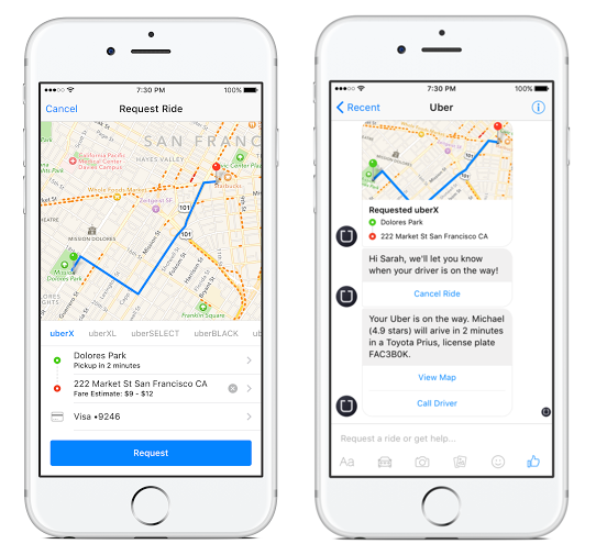 Add an extra revenue channel to your UBER like ride-hailing app.