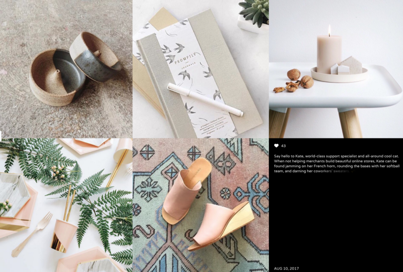 Shopify theme Vogue Instagram feed