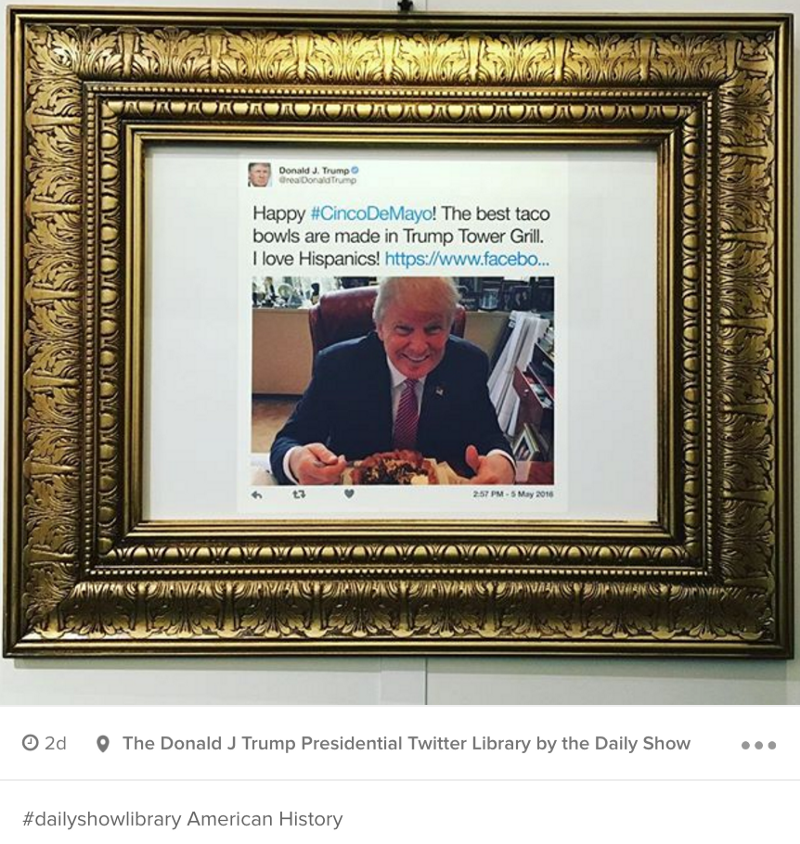 An Important Social Media Analysis Of The Daily Show S Trump Twitter Library Hyp3r