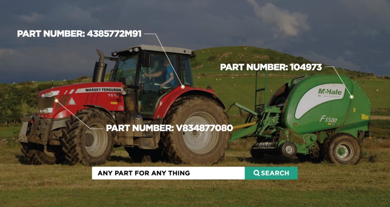 Online Store for Agricultural Parts