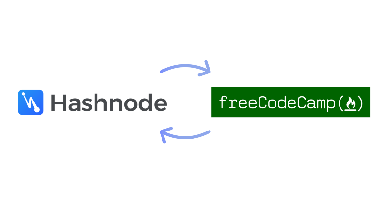 Now you can support freeCodeCamp by answering programming questions on Hashnode then donating the…