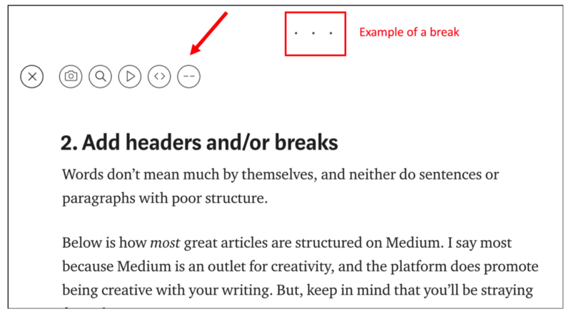 publish on medium for beginners