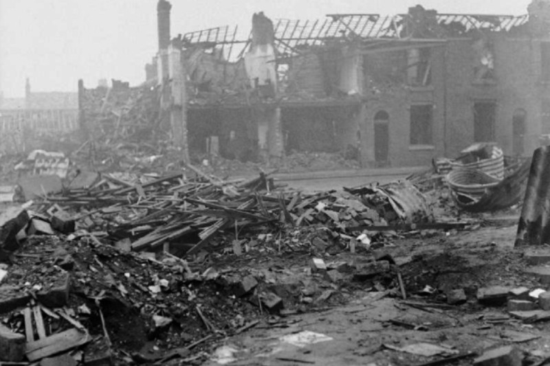 The Midlands was a major target for the Nazi Luftwaffe during the war