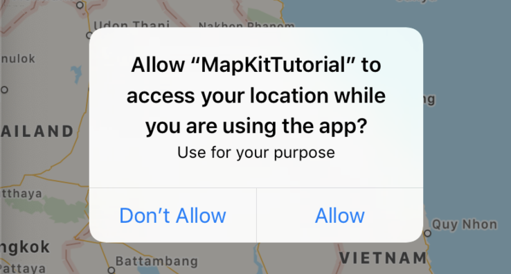 location permission ios